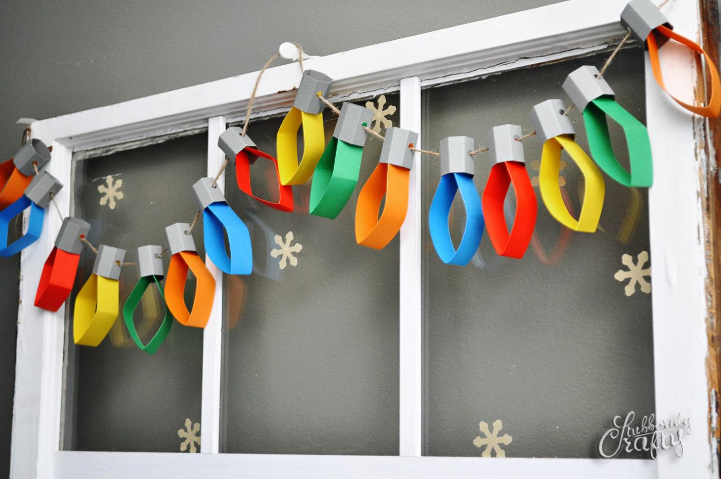 Paper Lights Garland.
