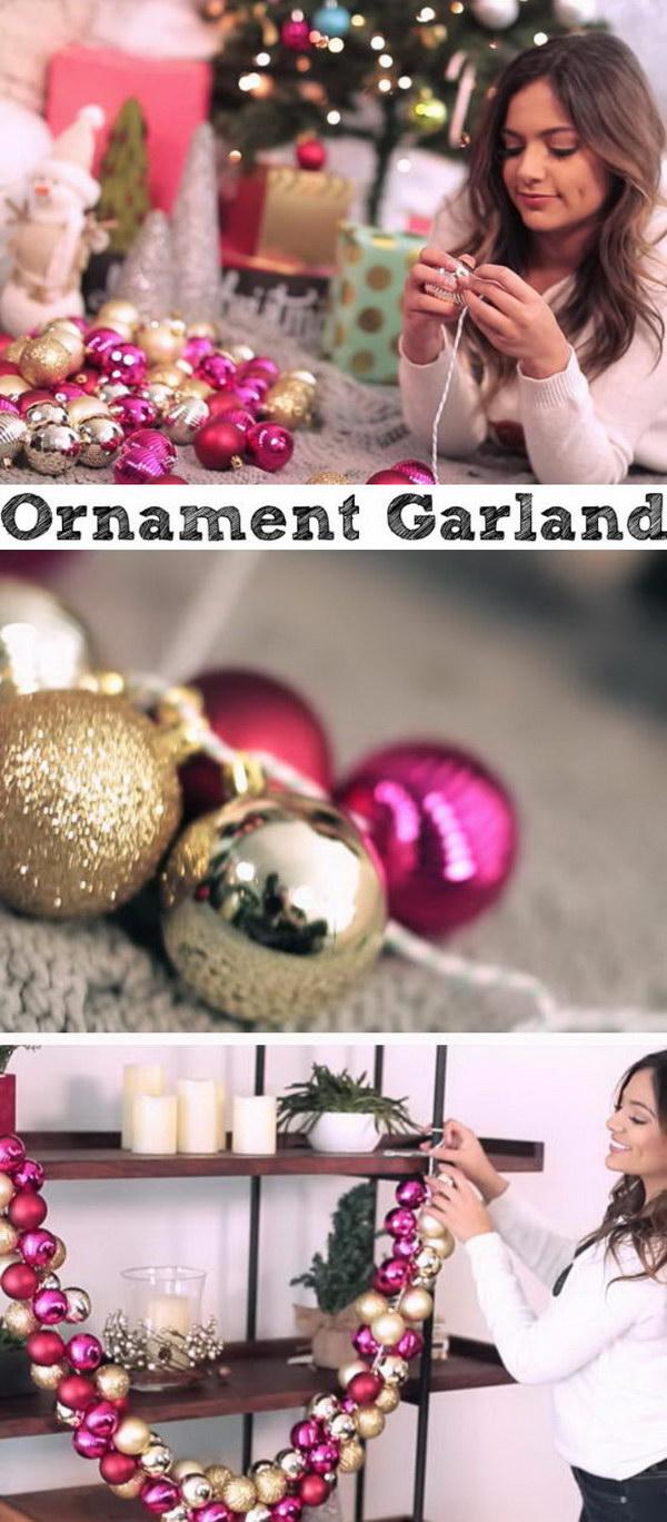 Ornament Garland.