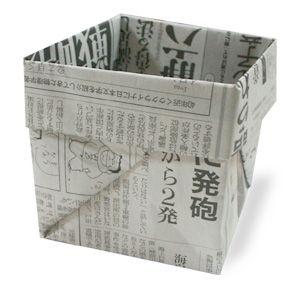 Newspaper Seed Starter Growing Pot.