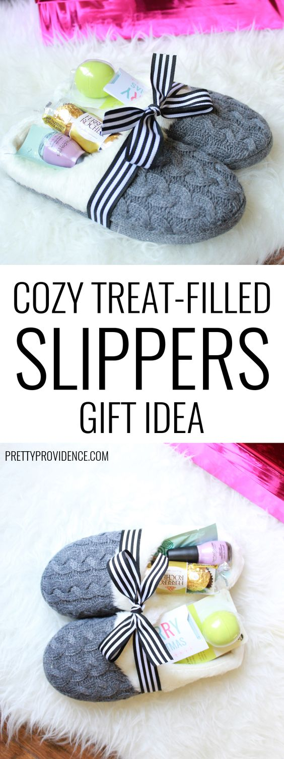 Cozy Slippers Gift Idea.
