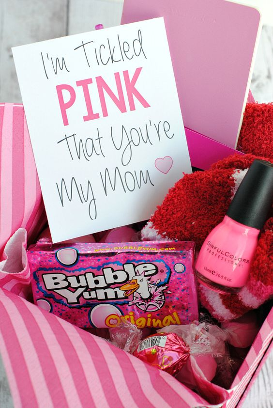 Tickled Pink Gift Idea.