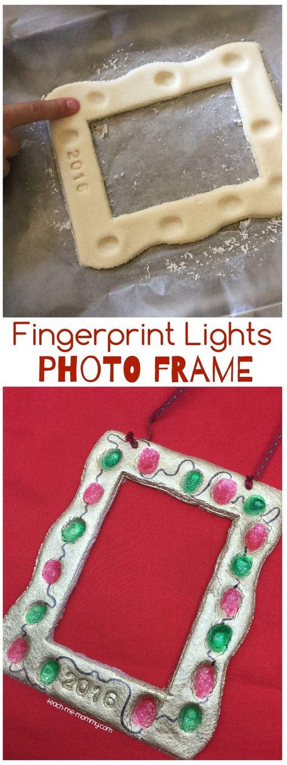 Fingerprint Lights Photo Frame.