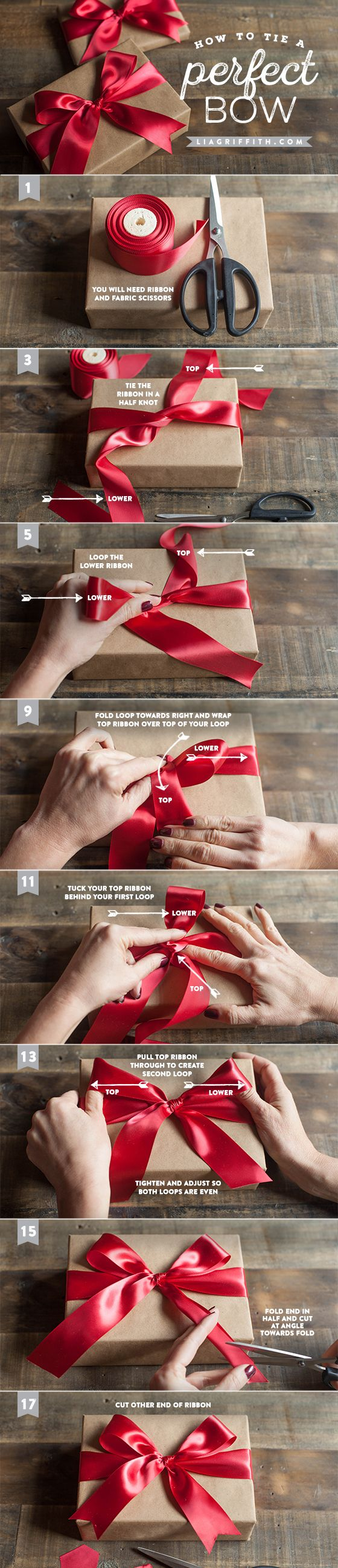 Tie a Perfect Bow for Your Gifts.