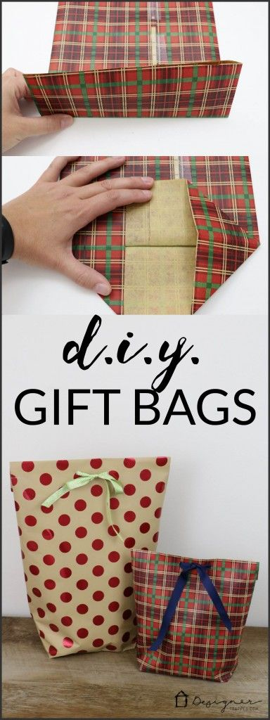 DIY Gift Bag for Christmas.