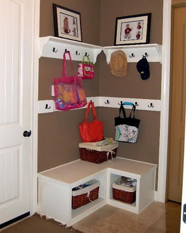 50 easy storage ideas for small spaces - Storage ideas for small spaces bedroom ...