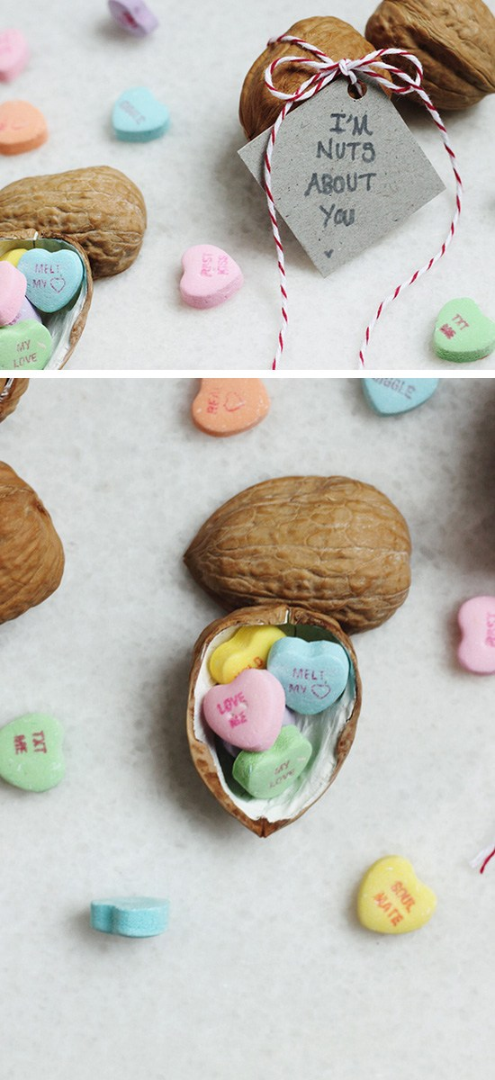 I'm Nuts About You Walnut Valentine Gift.