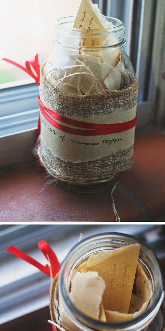 Memory Jar.