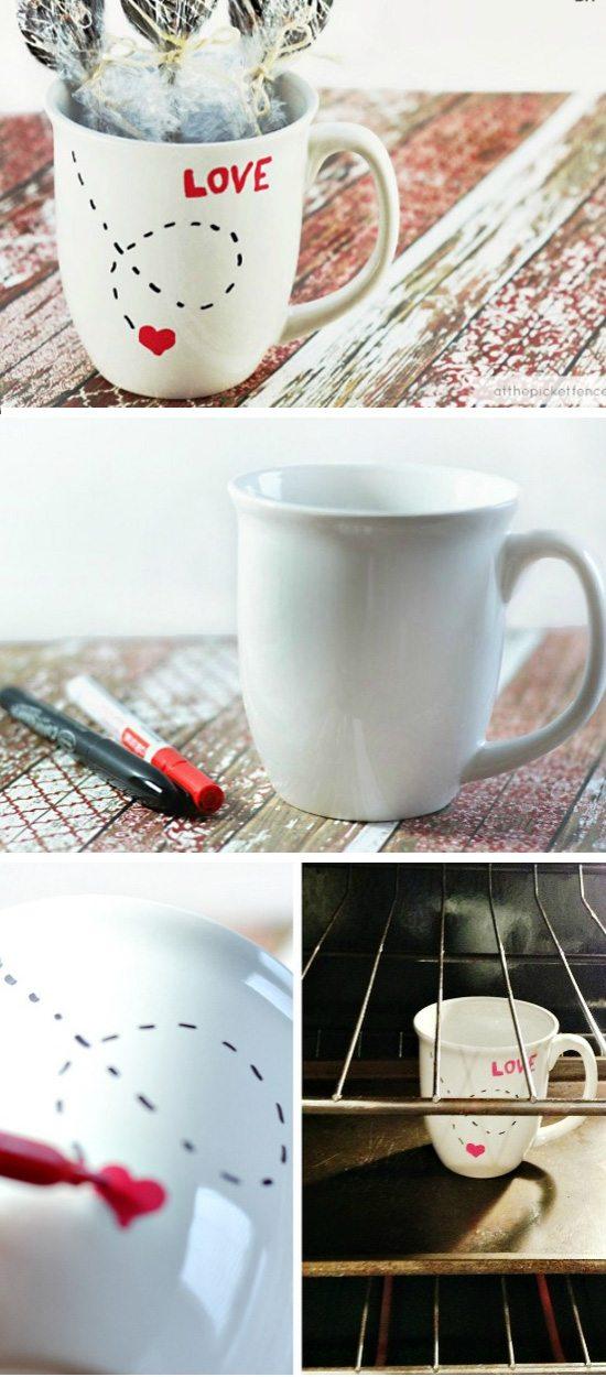 DIY Love Mug.