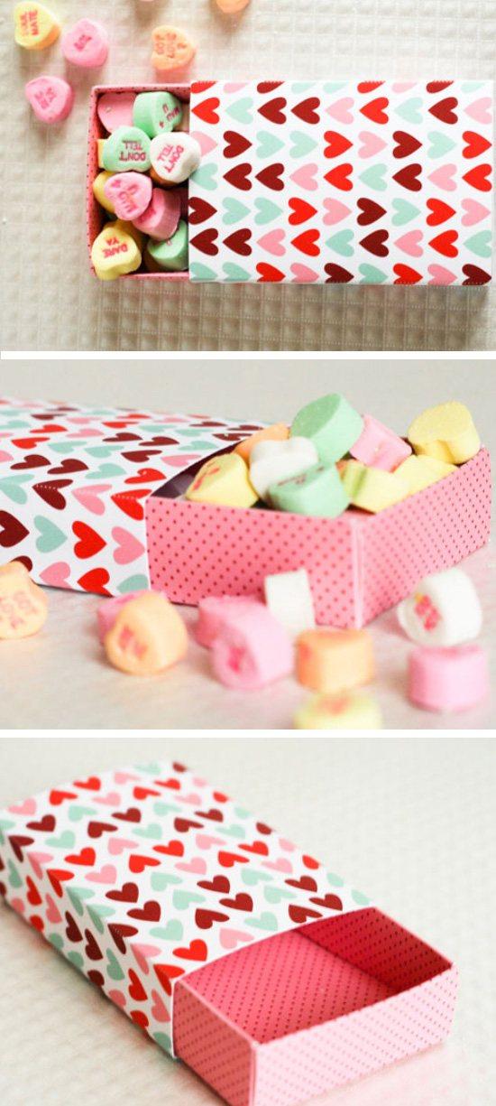 Valentines Matchbox.