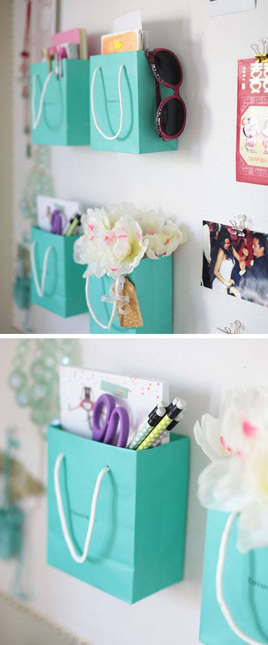 Shopping Bag Wall Organizers.