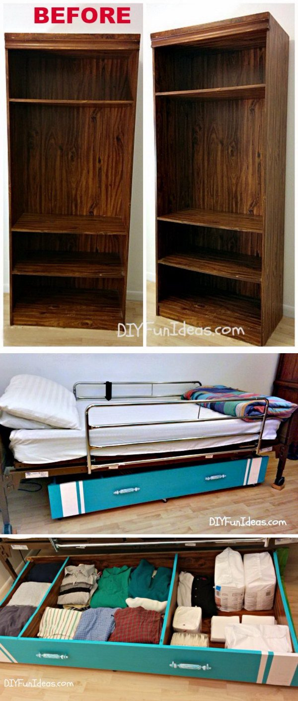 Under Bed Spaces Are Great for Extra Storage.