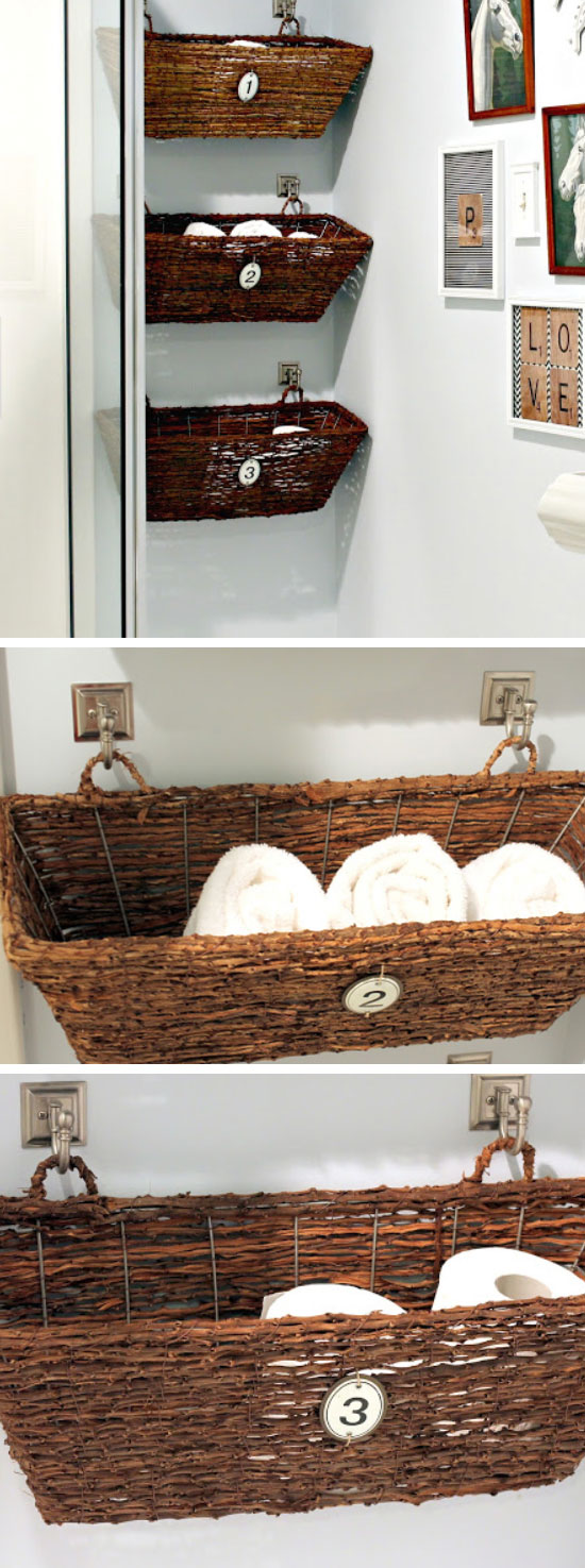 Window Box Bathroom Storage.