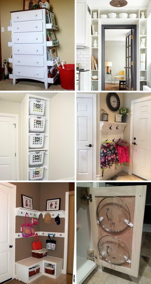 50 easy storage ideas for small spaces Easy diy storage ideas for small homes