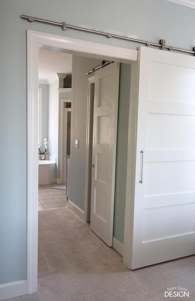 Contemporary Barn Door.