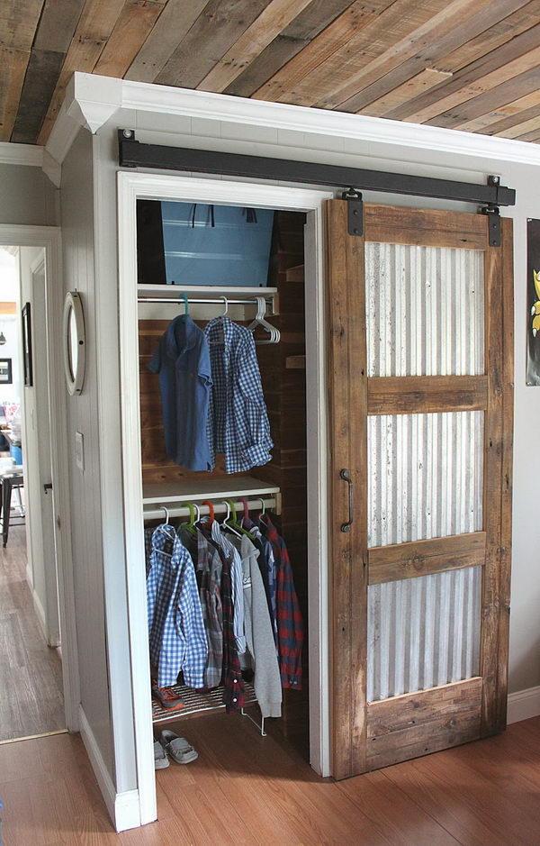 Closet Barn Door.