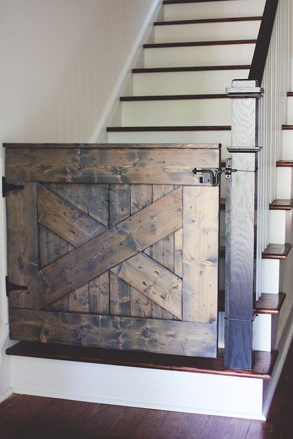 Barn Door Stair Gate.