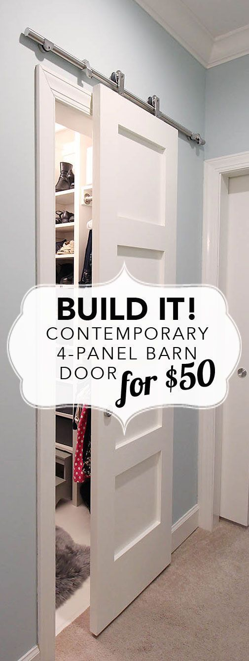 20 Diy Ideas Amp Tutorials To Use Barn Doors In Your Home 2018