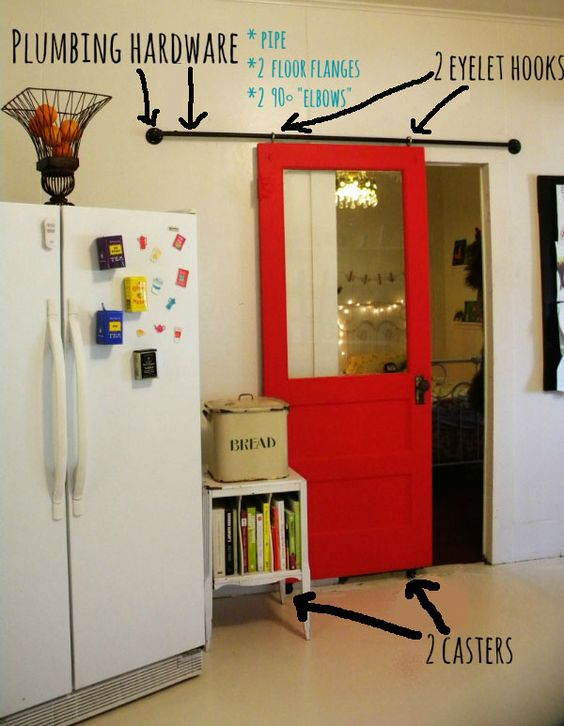 DIY Sliding Barn Door.