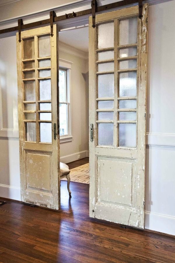 French Style Barn Door.