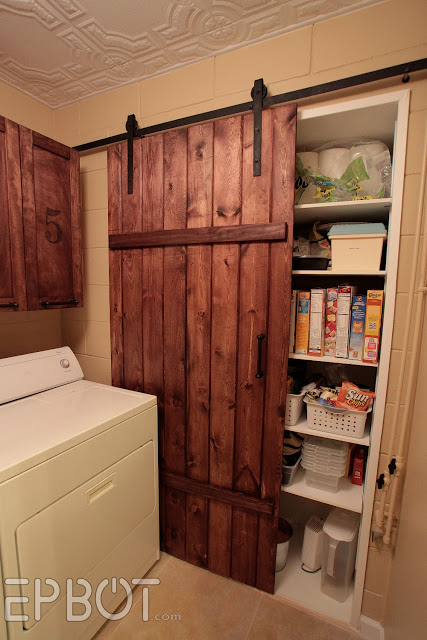 Sliding Barn Door for Small Spaces.