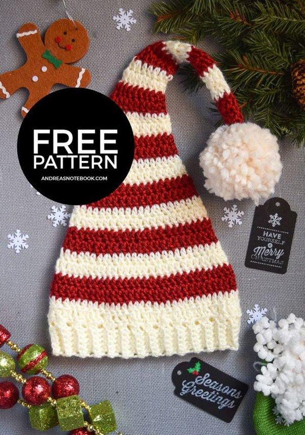 Free Pixie Elf Hat Crochet Pattern.