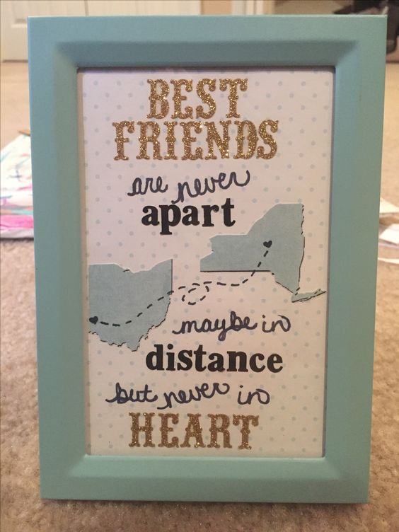 15 great diy gifts for best friends 2017 for A perfect gift for a friend