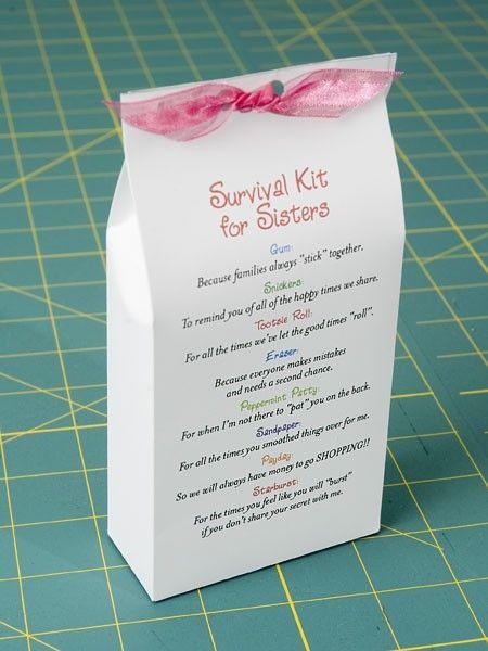 Survival Kit for Friends.