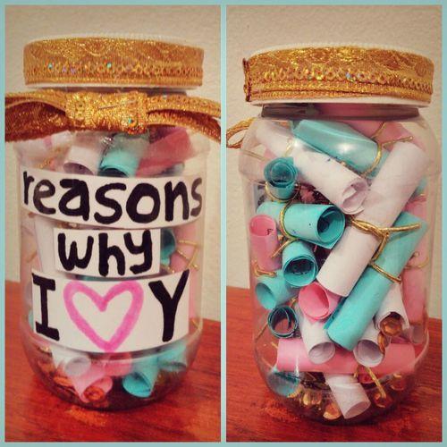 Reasons Why I Love You Jar.