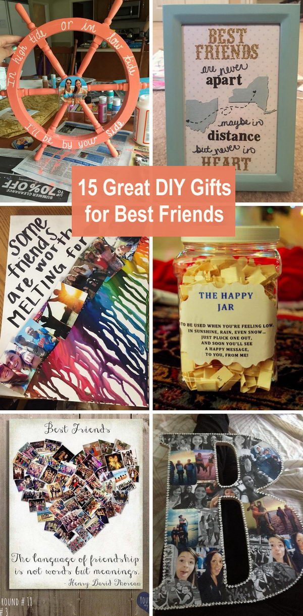 15 Great Diy Gifts For Best Friends 2018