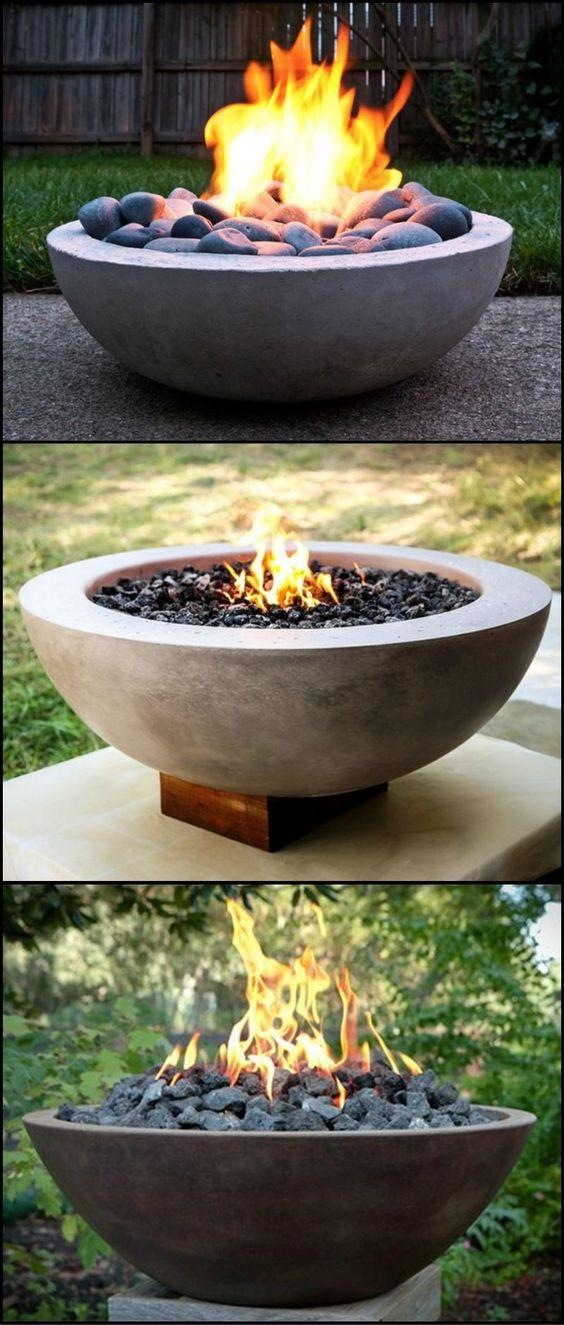 Bowl Fire Pit.