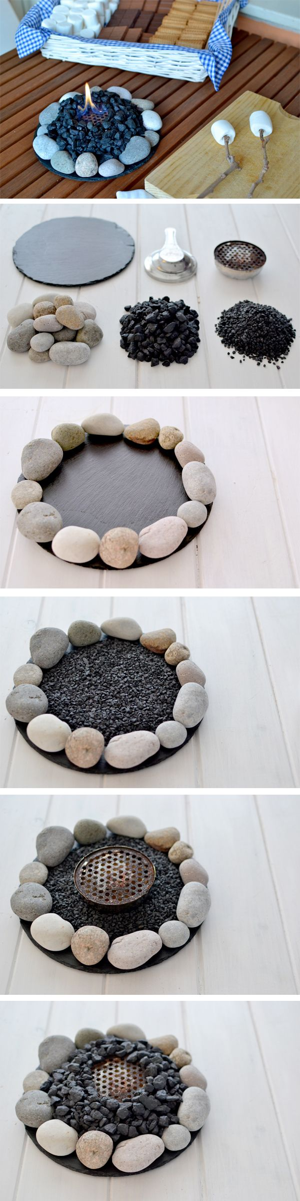 Make a Small Fire at Home.
