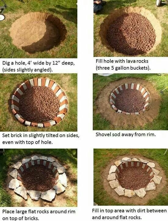 Easy DIY Fire Pit.