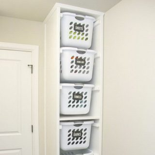 20 Clever Laundry Room Organization and Storage Ideas