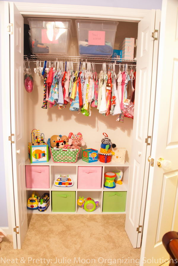 8 Kids Storage And Organization Ideas: 25 Clever DIY Toy Storage Solutions And Ideas 2018