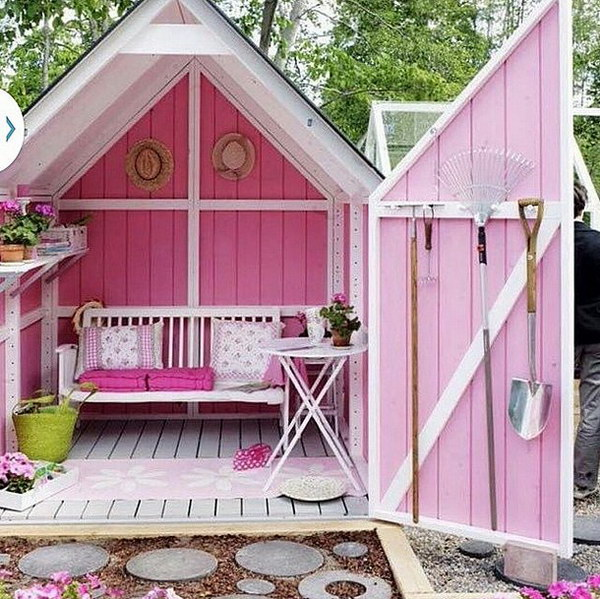 25+ Gorgeous She Shed Ideas 2018