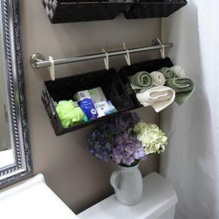 40+ Practical Over The Toilet Storage Ideas