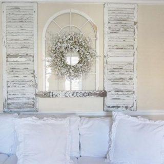 55 Romantic Shabby Chic Living Room Ideas