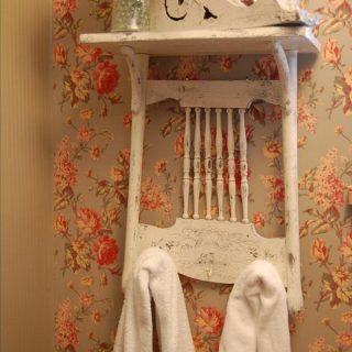 60 Awesome Shabby Chic Bathroom Ideas