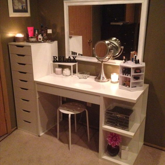 40 Awesome Makeup Storage Designs And Diy Ideas For Girls