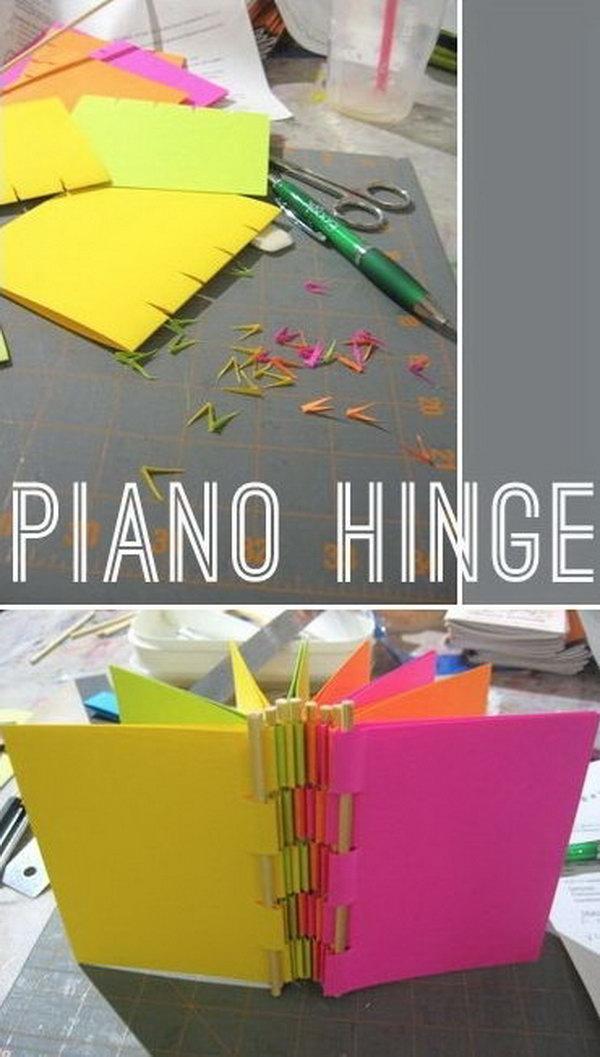 Piano Hinge Book
