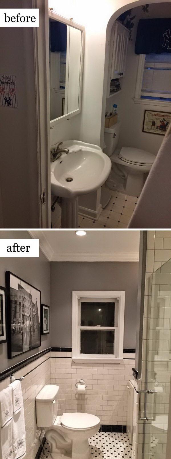 1920's Bathroom Remodel .