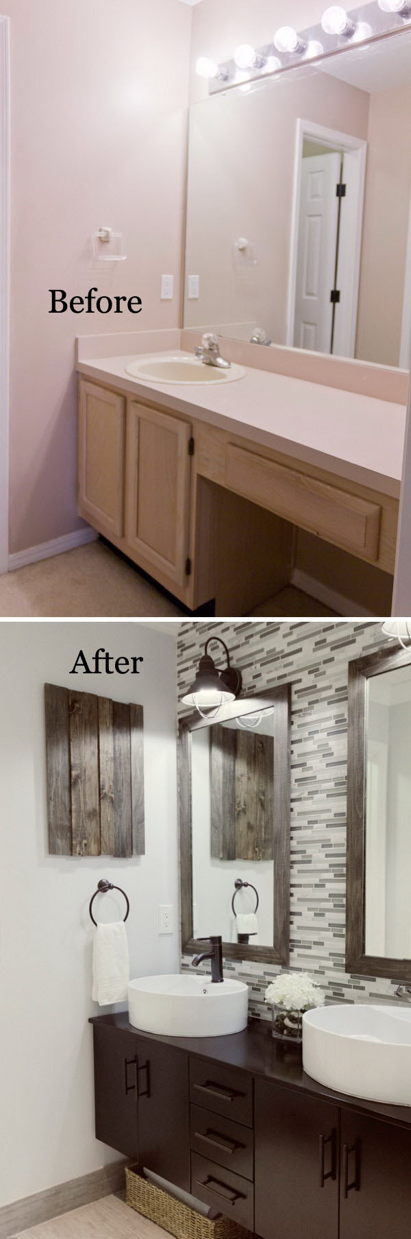 Before And After Makeovers 30 Awesome Bathroom Remodeling Ideas 2018
