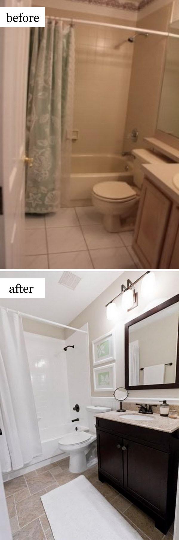 $950 Guest Bath Reveal.