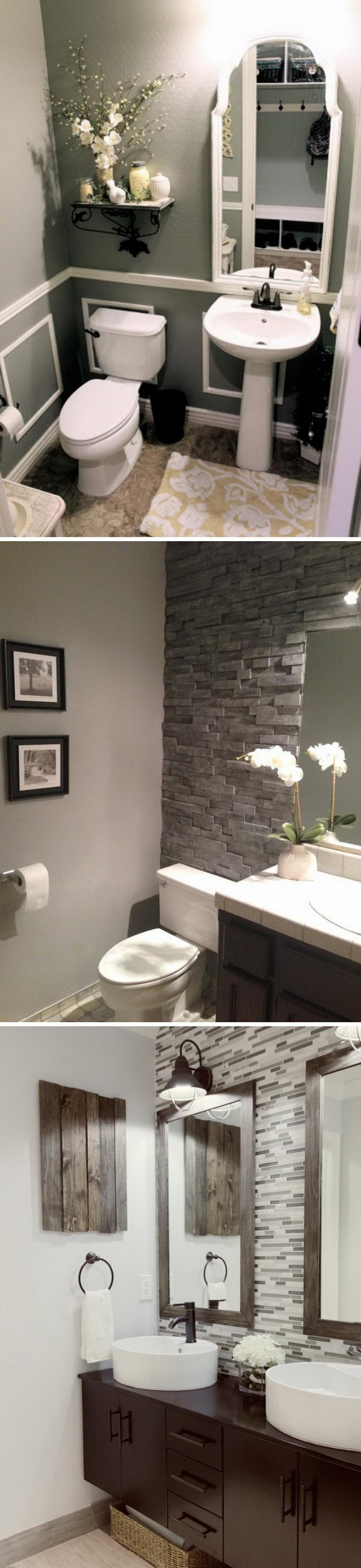 Awesome Bathroom Remodeling Ideas.