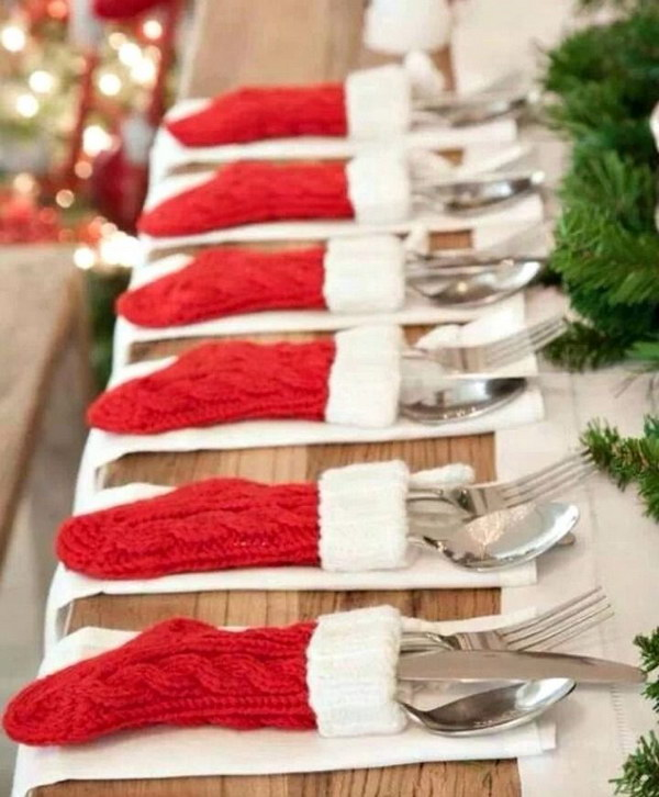 Mini Stocking Utensil Holders