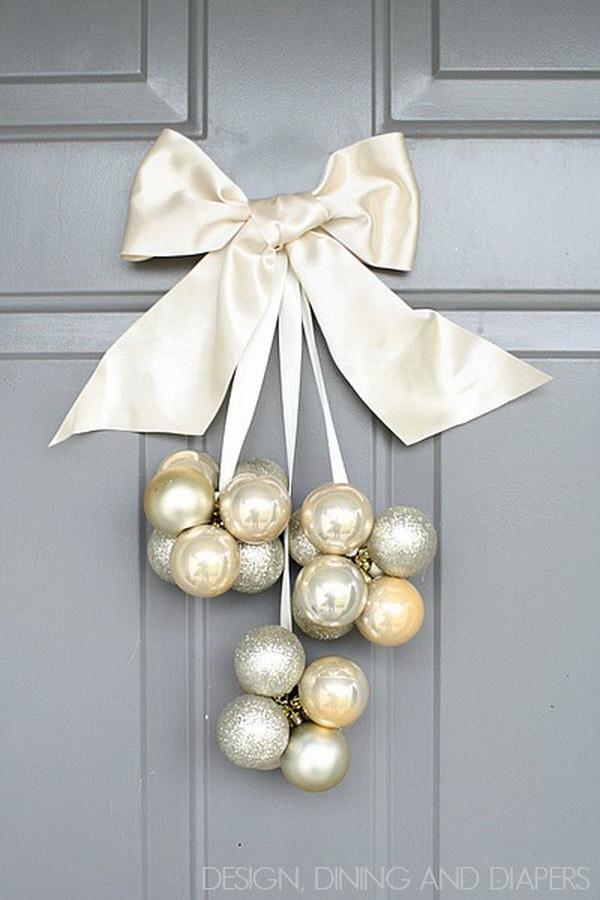 DIY Ornament Door Decoration.