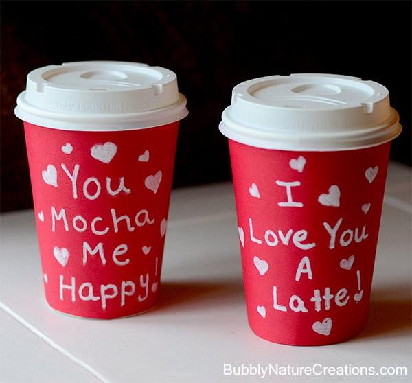 You Mocha Me Happy! I Love You A Latte!.
