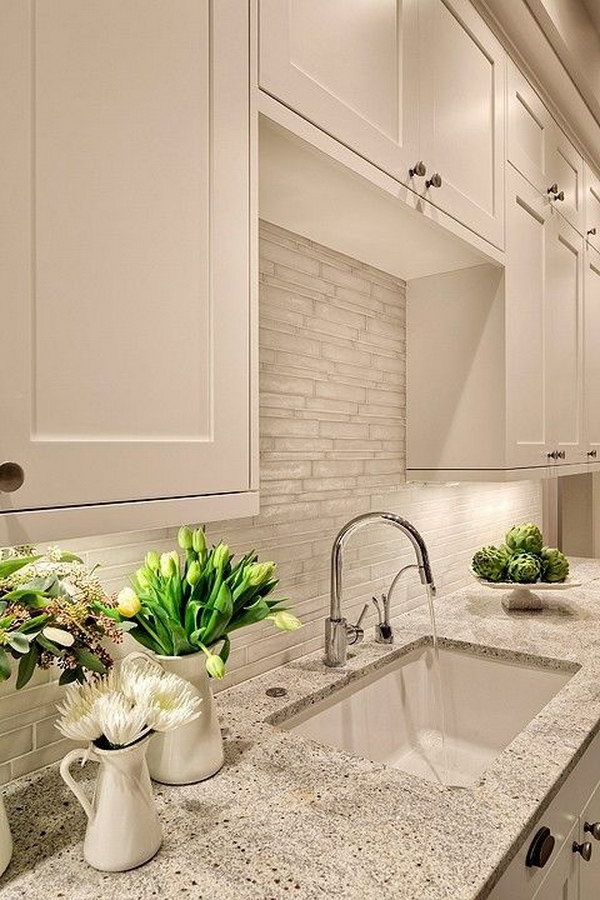30 Awesome Countertop Ideas For Your White Kitchen 2018