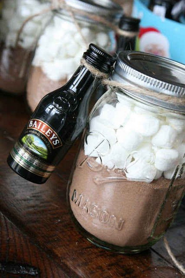 DIY Grown-Up Hot Cocoa Kit.
