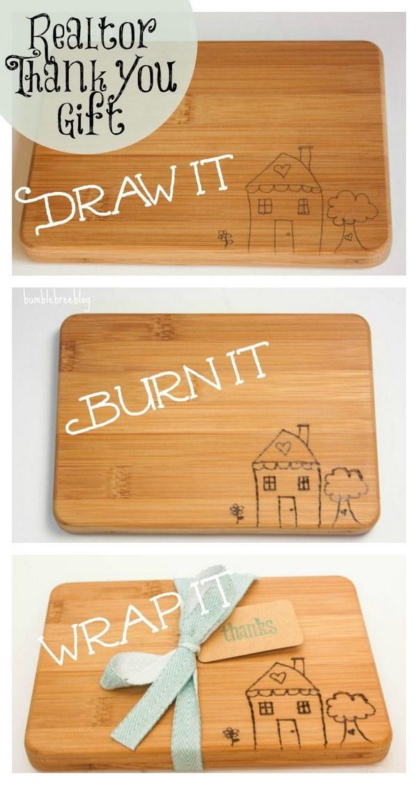 DIY Wooden Cutting Board.